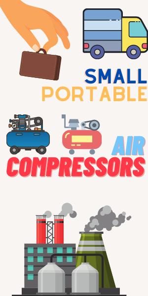 small portable air compressors